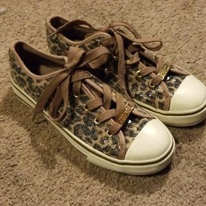 Guess animal print sneakers